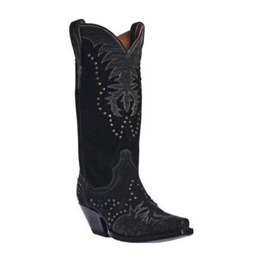 86ecfeaa106 Dan Post Women's Black Cowboy Boots
