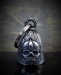Bravo Motorcycle Guardian Bells: Mandala Skull Rose Bell
