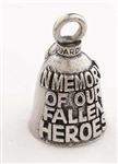 Motorcycle Guardian Bells: In Memory Of Fallen Heroes