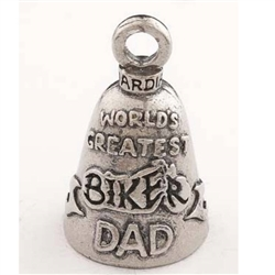 Motorcycle Guardian Bells: World's Greatest Dad