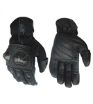 Protective Knuckle Leather Motorcycle Gloves
