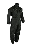Bikers:  2 Piece Motorcycle Rain Gear Suit