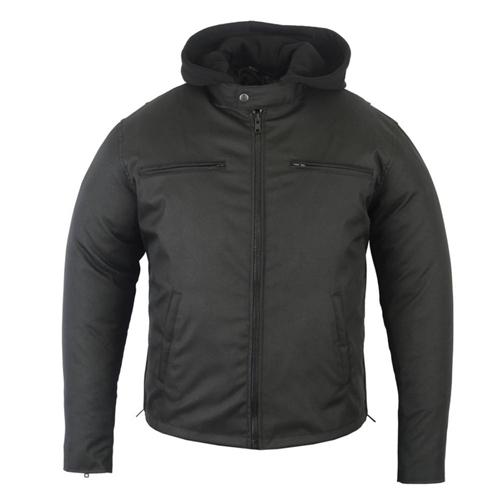 bfcfc11e305 All Seasons Mens Motorcycle Jackets / Hooded