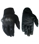 Protective Knuckle Mesh Motorcycle Gloves