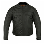 Mens Motorcycle Jackets: Lightweight Water-resistant Textile