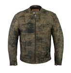 Antique Brown M/C Cruiser Jacket