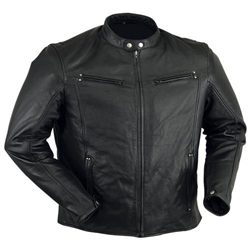 Premium Lightweight Leather Motorcycle Jackets