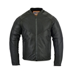 Armored Mesh Motorcycle Jacket for Men
