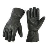 High Performance Insulated Leather Motorcycle Gloves
