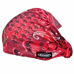 Red Snake Paisley DOOZ Hair Band