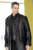 Mens Lambskin Leather Blazer Jacket