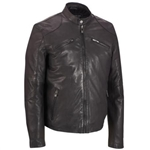 Lightweight Leather Motorcycle Jacket: Rogue State