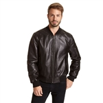 Excelled Lambskin Leather Bomber Jackets
