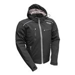 Soft Shell Armored Touring Jacket, Hooded, Atrox
