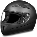 Dull Black Daytona Full Face Motorcycle Helmets