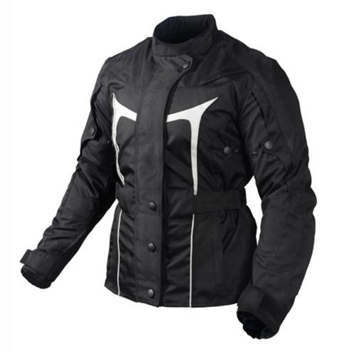 Waterproof Motorcycle Jacket for Women - Body Armor - Leather Bound ... 02917de050