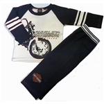 Harley-Davidson Toddler Boy Outfit: Fleece