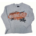 Harley-Davidson Boys Thermal Shirt, Kids Clothing