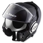 LS2 Valiant Modular to Open-Face Helmet