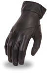 Women's Leather Motorcycle Gloves - Basic Premium