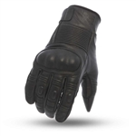 First Classics Leather Motorcycle Gloves W/ Knuckle Protection