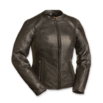 Womens Leather Motorcycle Jackets - Crossover Rider