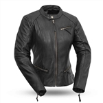 Womens Leather Motorcycle Jackets - First Fashionista