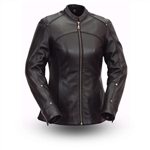 Womens Leather Motorcycle Jackets - Biker Jacket