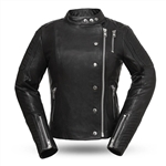 """Warrior Princess"" Ladies Leather Motorcycle Jackets"