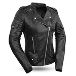 Women's Lightweight Leather Motorcycle Jackets