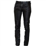 Womens Sexy Motorcycle Leather Pants: First Classics