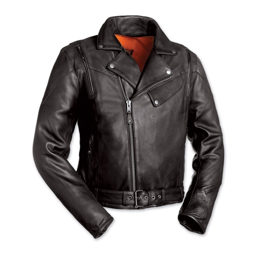 0d394e069 The 60s New Yorker Mens Leather Motorcycle Jacket
