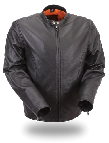 Lightweight Leather Motorcycle Jacket for Men - Leather Bound Online