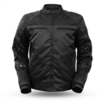 Men's Textile Motorcycle Jacket with Armor