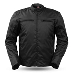 Men's Textile Motorcycle Jacket with Body Armor