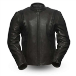 First Classics Platinum Cowhide Scooter Jacket