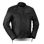 Premium Black Leather Motorcycle Jackets: First Classics
