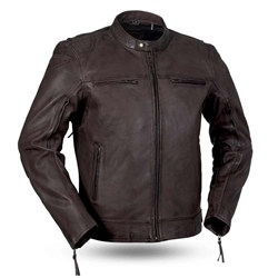 Premium Brown Leather Motorcycle Jackets: First Classics