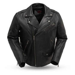 Black Leather Motorcycle Jackets: First Classics