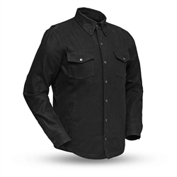 Black Denim Motorcycle Jacket, First Classics