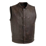 First Classics Copper Leather Club Vest