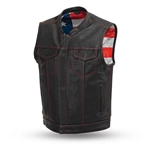 sharp shooter premium leather club vest