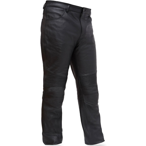 Mens Leather Motorcycle Riding Pants By First