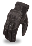 Racing Motorcycle Gloves With Knuckle Protection