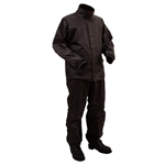 Nylon Black Motorcycle Rain Gear Suit