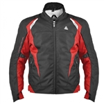 Matrix Red/Black Sport Motorcycle Jacket, Clearance