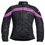Ladies Mesh Motorcycle Jacket With Armor