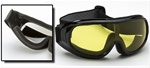 Foam Padded Fit-Over Motorcycle Goggles
