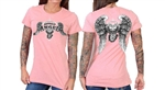 Asphalt Angel Ladies Biker T-Shirt