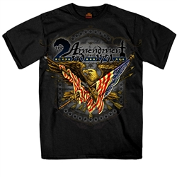 2ND Amendment Biker T-Shirt for Motorcycle Riders